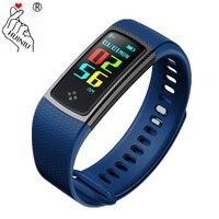 S9 Smart Bracelet Waterproof Smartband Color Screen Display Wristband Heart Rate Fitness Tracker Band Pk S2