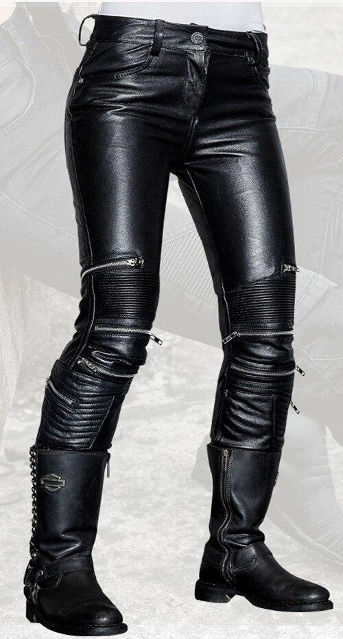 Модные обтягивающие uglybros ubs021 кожа Штаны женские мотоциклетные защитный Штаны локомотив для верховой езды кожа Штаны Racing Штаны
