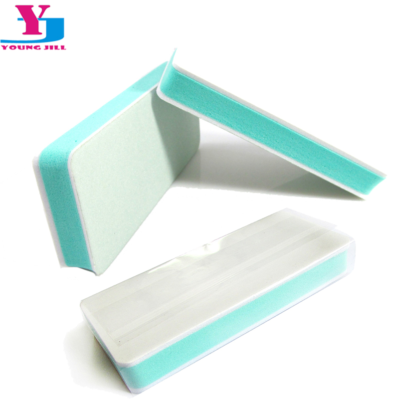 5 Pcs Hot Wholesale Color Buffing Sanding Buffer Block Files Manicure Nail Art Tips Women Beauty Manicure Tools Buffing Cream
