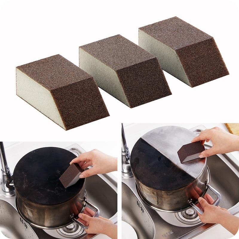 Eraser Sponge Cleaner Kitchen Rust Tool Multifunction Removal Pot Pan Dish Bowl