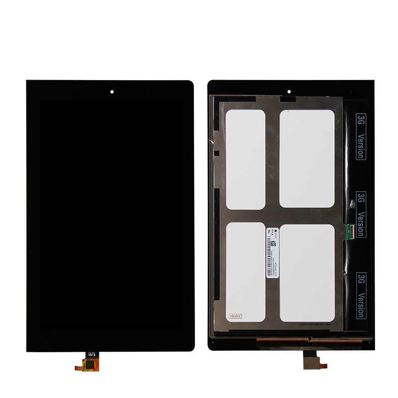 """En Kaliteli 10.1 """"Lenovo IdeaTab Yoga 10 B8000 HD Sayısallaştırıcı Dokunmatik lcd ekran meclisi"""