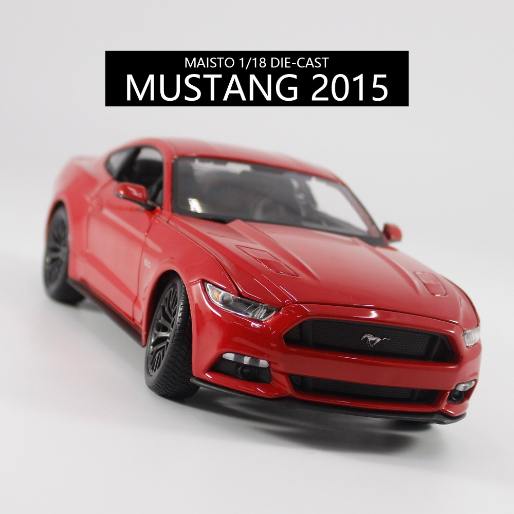 2016 Hot Sale Maisto 1/18 Alloy Car Model Mustang GT Diecast Car Model Toy for Collection/Toys Gift maisto jeep wrangler rubicon fire engine 1 18 scale alloy model metal diecast car toys high quality collection kids toys gift
