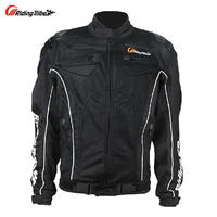 Free Shipping 2 Colors 2014 New Model Pro Biker Men Motorcycle Jackets Riding Racing Jackets Motorcycle