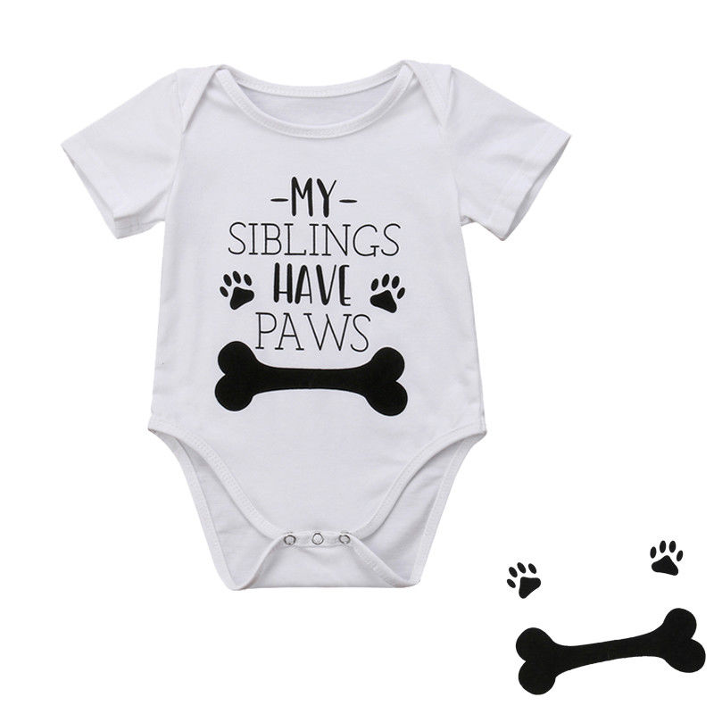 New Infant Baby Boy Clothes Girl Babygrows Jumpsuit Romper M