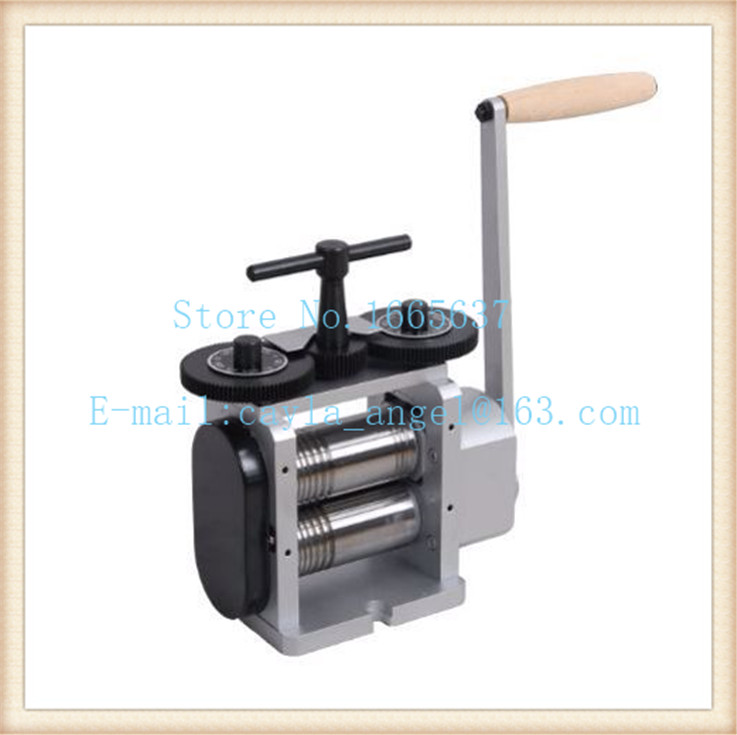 Top Quality PEPE Jewelry Making Equipment 110mm Rolling Mill For Gold And Silver Jewelry Rolling Mill