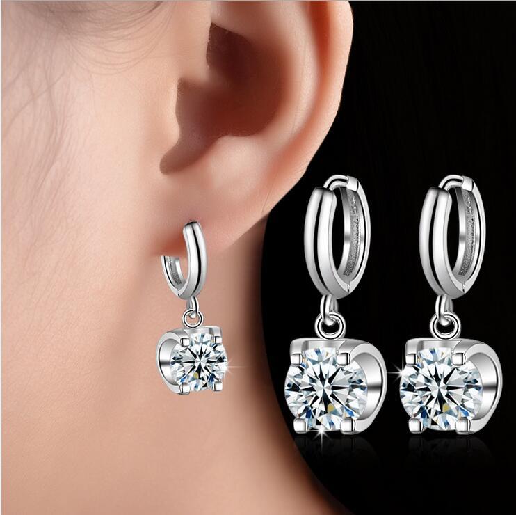 Novi prihod visoko kakovostne modne sijoče CZ cirkon zvezda 925 - Lep nakit