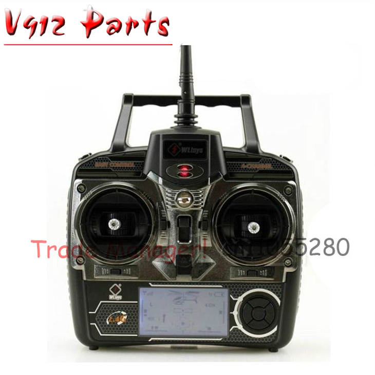 Free shipping v912 the remote controller of v912 v911 v911-1 rc helicopter  , wl Universal Remote Control wltoys wl r6 left hand mode remote controller for v911 v911 1 v911 2 v912 v913 black