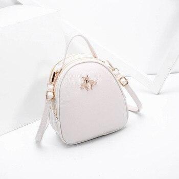 01a3bbc5b87f Роскошные сумки для женщин дизайнерские женские Высокое качество PU кожаная  сумка для мода 2018 г. украшение в виде пчелы известных брендов