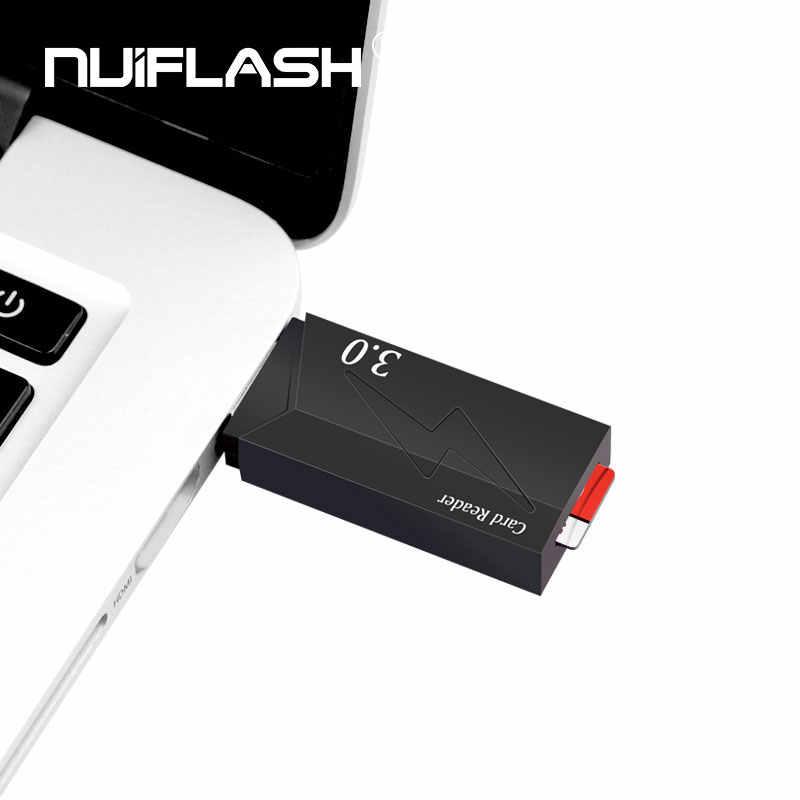 العلامة التجارية USB 3.0 قارئ بطاقات micro sd محول الذكية micro sd قارئ بطاقات عالية الجودة قارئ بطاقات شحن مجاني