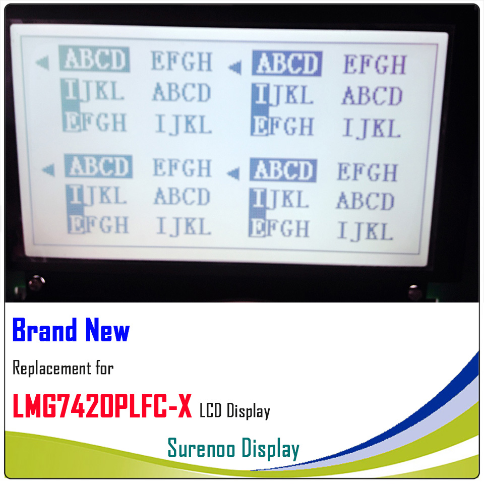1PC LMG7420PLFC-X  for 5.1-inch 240×128 LCD Panel