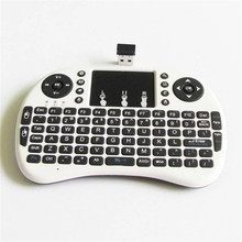 цена на basix New 2.4G Mini USB Wireless Keyboard Touchpad & Air Fly Mouse Remote Control for Android Windows TV Box Smart Phone