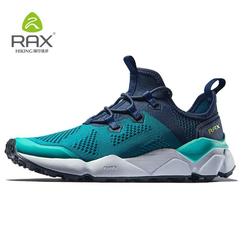 Rax Hommes chaussures de course de Femmes chaussures de jogging perméables Hommes chaussures de sport légères Hommes chaussures de gymnastique En Plein Air chaussures de sport Mâle zapatos