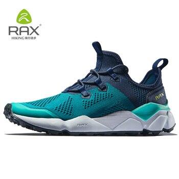2972400f437 Zapatillas de correr para hombre Rax zapatos transpirables para correr para  hombre zapatillas de deporte ligeras
