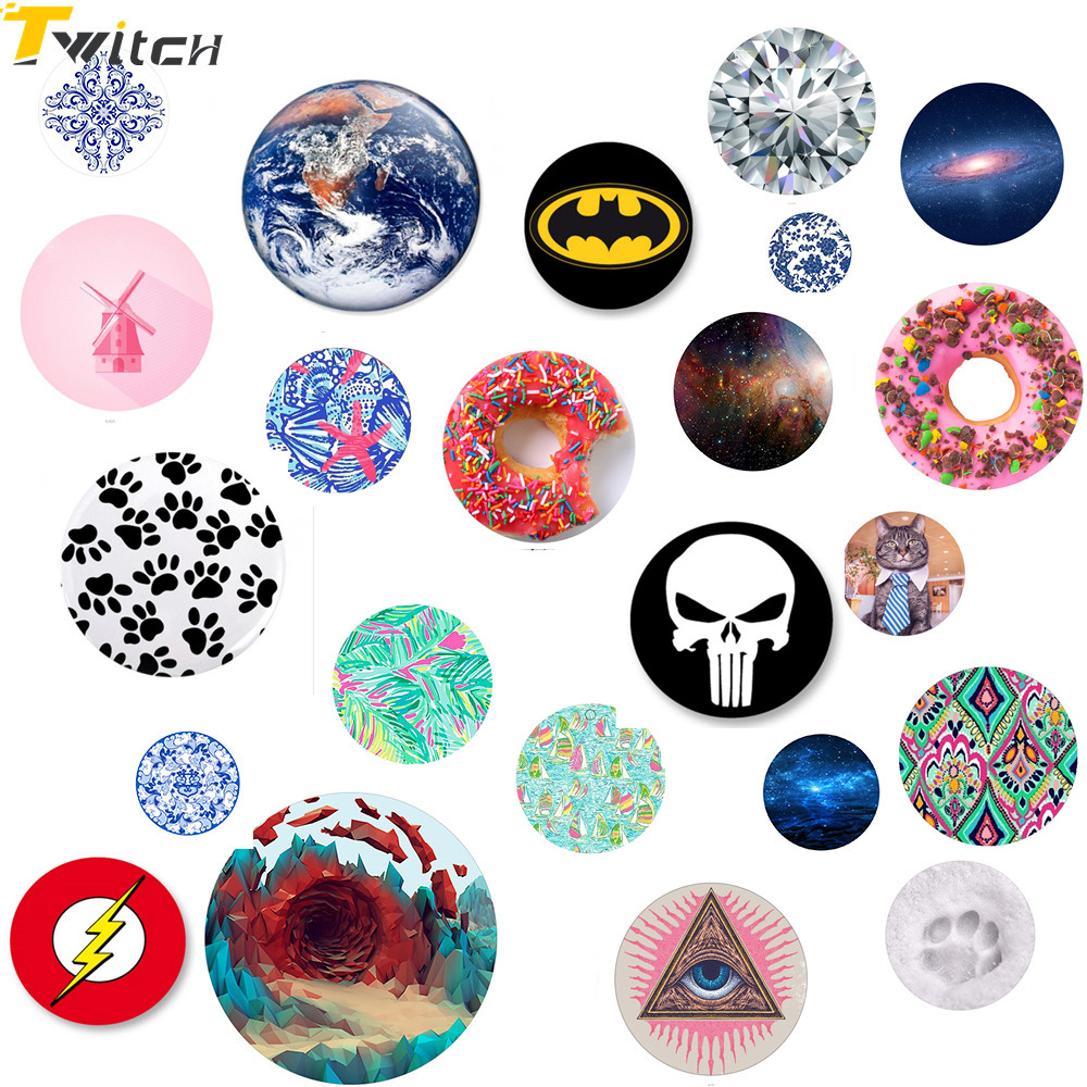 Twitch Donuts style POP Grip Mount ring holder for Universal Smartphones Tablets holders For Xiaomi iPhone