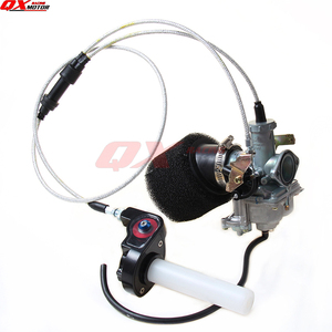 PZ30 30mm Carburetor Accelerating Pump Racing 200cc 250cc Motocross atv quad For IRBIS kayo BSE With Dual Throttle Cable(China)