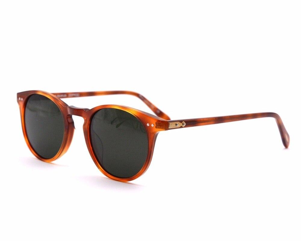 Diseñador Vintage marca hombres ov5256 Sir O 'malley sol polarizadas masculinas mujeres al aire libre gafas de sol con el caso