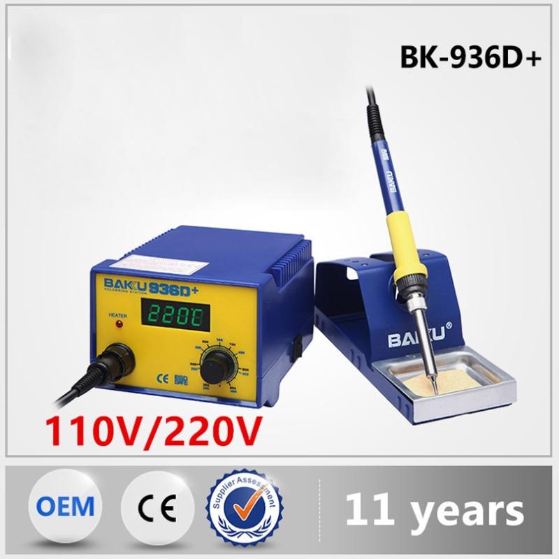 BK-936D+ digital display soldering iron, mobile phone/computer/industrial soldering station repair tool ultrafire c2 t60 3 mode 910 lumen white led flashlight w strap 1 x 18650 1 x 17670