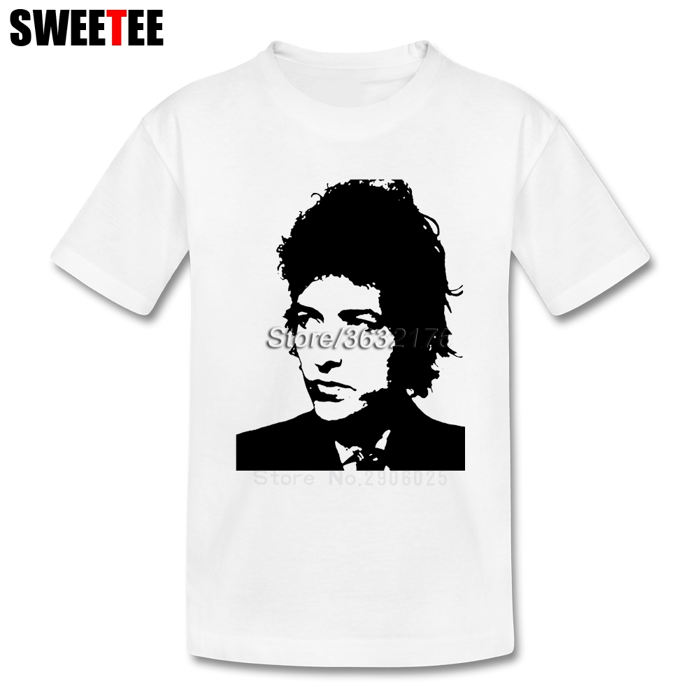 Bob Dylan T Shirt Kids Cotton Short Sleeve Baby Country Music O Neck Tshirt Children Clothes 2018 Singer T-shirt For Boys Girls