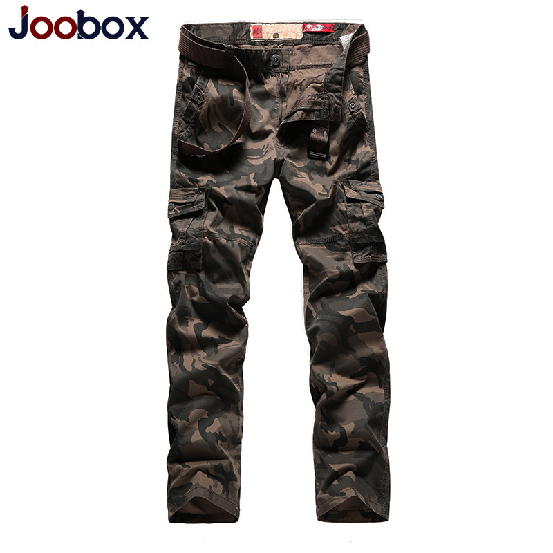 JOOBOX 201 New IX2 Waterproof camouflage tactical pants War Game Cargo pants mens Pants trousers Army military Active Pants
