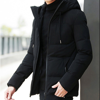 Luxury New Brand Winter Jacket Men Clothes 2018 Casual Stand Collar Hooded Collar Fashion Winter Coat Men Parka Outerwear Warm