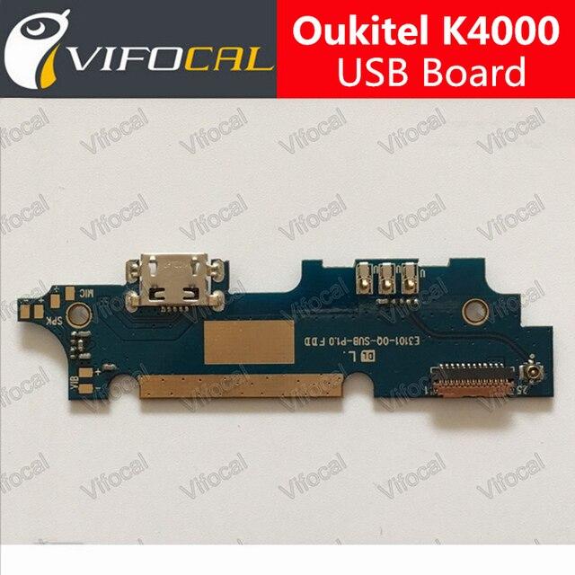 Oukitel K4000 Tarjeta USB 100% Nueva original del usb bordo cargo enchufe Accesorios para Oukitel K4000 Lite Teléfono Móvil