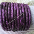 Jewelry cord thistle python leather stingray Leather cord 6mm width