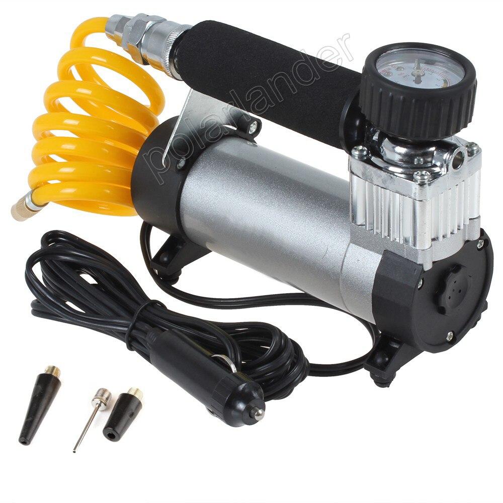 Super débit haute qualité 12 V voiture pompe 100PSI Auto compresseur d'air pneu gonfleur Portable