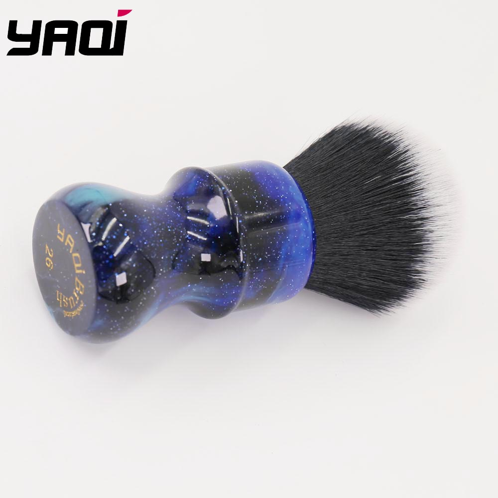 Image 5 - 26MM Yaqi Mysterious Space Color Handle Tuxedo Knot Men Shaving Brush-in Shaving Brush from Beauty & Health