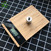 Bilancia Bilancia Elettronico Digitale da cucina Cucina Bilancia 5 kg/1g Food Diet Weight Balance Legno Bilancia Mini Retro LCD|Bilance da cucina|Casa e giardino -