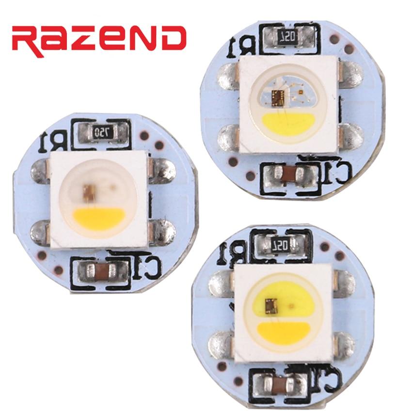 Addressable LED SK6812 RGBW RGB mini Board RGB + Warm white Neutral White WWA Heatsink 5050 RGB LED pixels 5V similar WS2812B matek 8 bit ws2812b rgb 5050 highlight led for naze32 cc3d