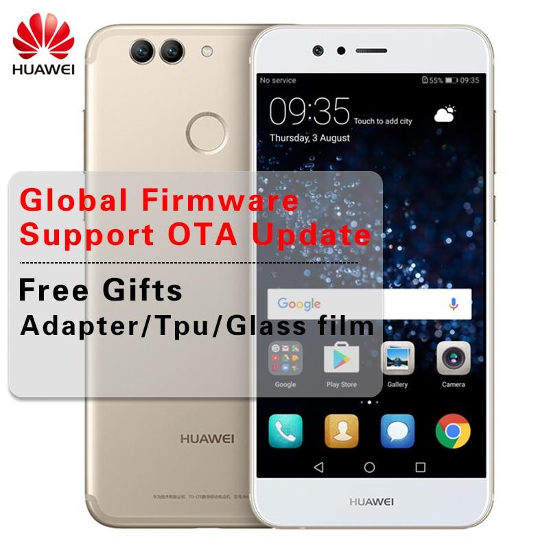 """Оригинальный huawei Nova 2 4G B Оперативная память 6 4G B Встроенная память телефона Android 4G LTE Kirin 659 Octa Core 5,0"""" 1920X1080 P Фронтальная камера 20.0MP смартфон"""