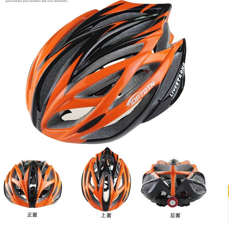 Nova TOPTETN kolesarska kolesarska moška ženska čelada EPS - Kolesarjenje - Fotografija 5