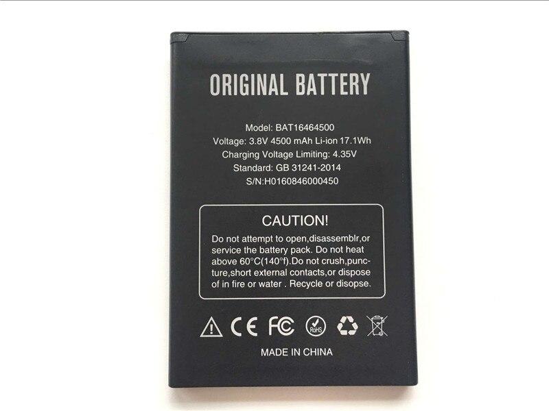 DOOGEE T5 Battery BAT16464500 4500mAh Large Capacity Li-ion Backup Battery For DOOGEE T5 Lite Smart Phone