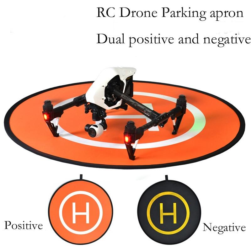 110cm RC Drone Parking Apron Mini Fast-fold Landing Pad for DJI SPARK Mavic Pro Phantom 3 4 Inspire 1 2 Helipad