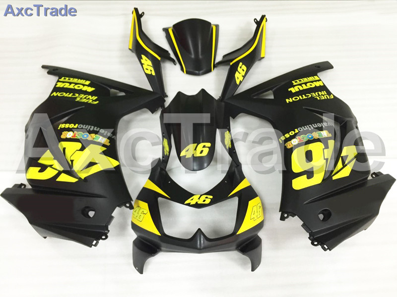 Motorcycle Fairings For Kawasaki Ninja 250 ZX250 EX250 2008-2012 08 - 12 ABS Plastic Injection Fairing Bodywork Kit Black A651 motorcycle fairing kit for kawasaki ninja zx10r 2006 2007 zx10r 06 07 zx 10r 06 07 west white black fairings set 7 gifts kd01