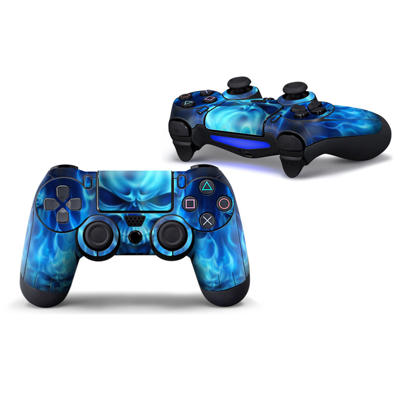 2 Pieces skin for ps4 controller cover sticker for ps4 accessories PVC decal for ps4 controller wireless