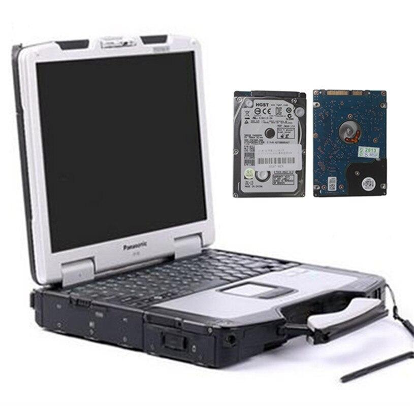 auto diagnostic font b laptop b font Toughbook CF30 used font b ram b font 4gb