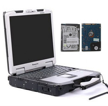 auto diagnostic laptop Toughbook CF30  used ram 4gb with 1tb hdd works for bmw icom mb star c4 two years warranty