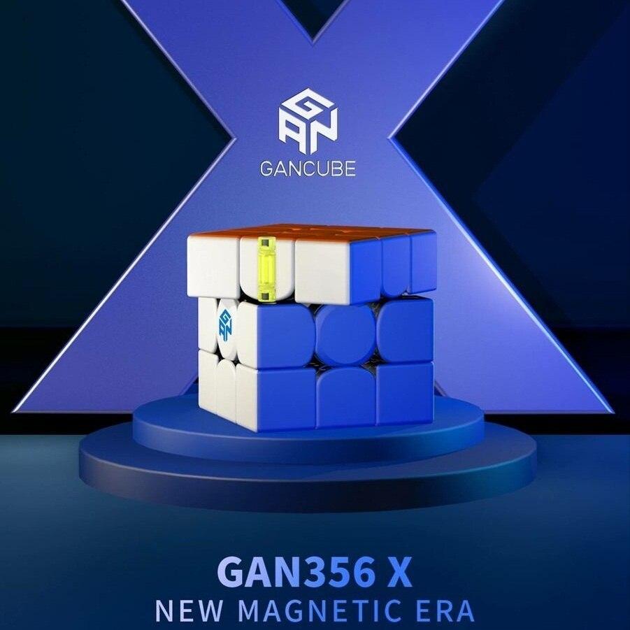 Nowy oryginalny Gan356 X 3x3x3 magnes Gans 3x3x3 IPG V5 numeryczne IPG profesjonalne GAN 356X3x3 magiczna prędkość Cube zabawki edukacyjne w Magiczne kostki od Zabawki i hobby na  Grupa 1