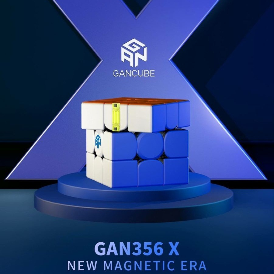 Nuevo Original Gan356 3X3x3x3 imán Gans de 3x3x3 IPG V5 numérico IPG profesional GAN 356X3x3 Cubo de velocidad mágica juguetes educativos