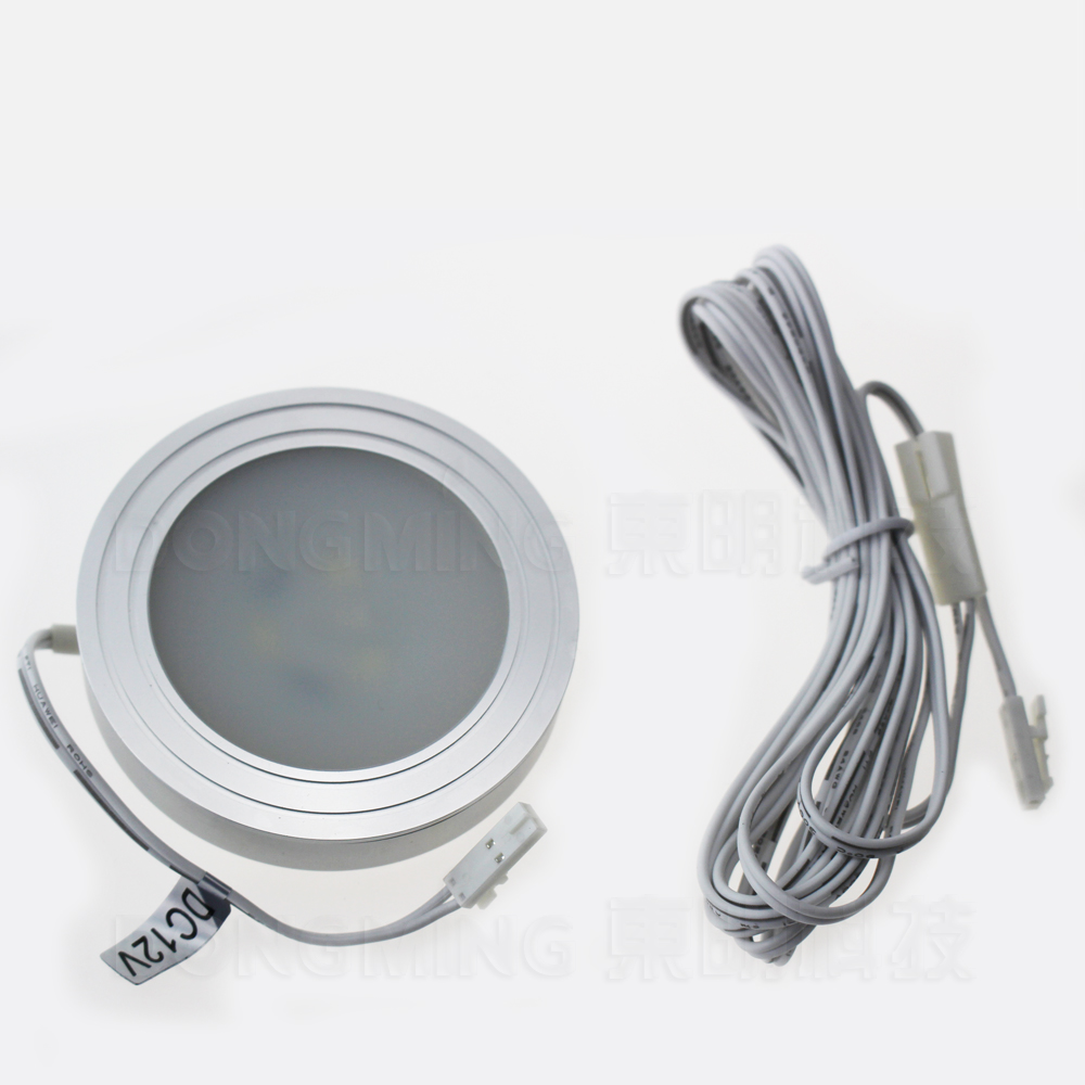 12pcs/lot Made in China high quality 1.5W 100LM LED sensor Cabinet Light LED Bulb Lamp AC 12V touch sensor light