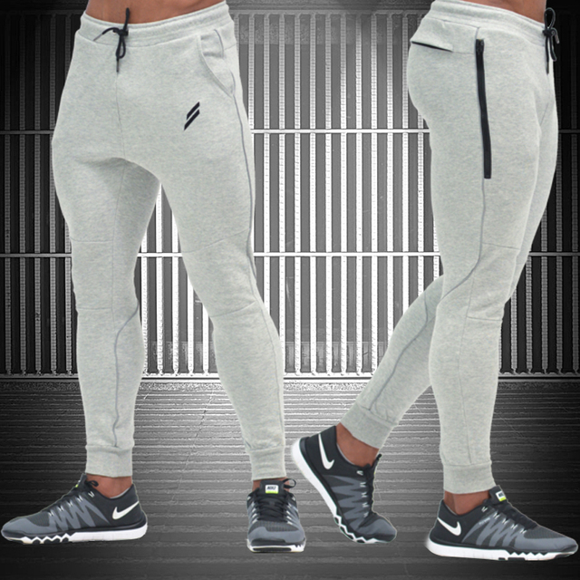 2016 NEW gymshark pants Men's gasp workout fitness Pants casual sweatpants jogger pants men skinny trousers