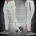 2016 NOVA calças gymshark homens gasp Calças de treino de fitness casual sweatpants jogger calças dos homens calças magros