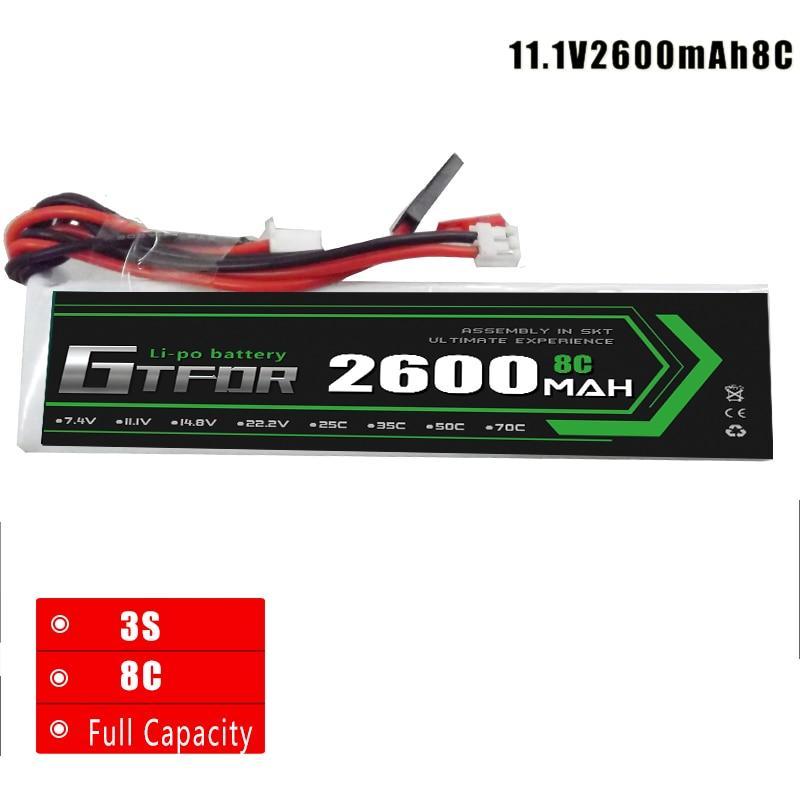 2600 mah 11,1 v 8C Batterie Hubsan X4 PRO sender/H109S/H501S/H502S/H301S fernbedienung FPV1 DEVO F12E JR WK-2801PR