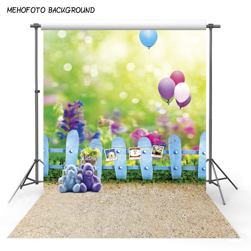 MEHOFOTO 5X7ft Children Photography Backdrops For Photo Studio Vinyl Photo Background Customized Baby Portrait Backgrounds(China)