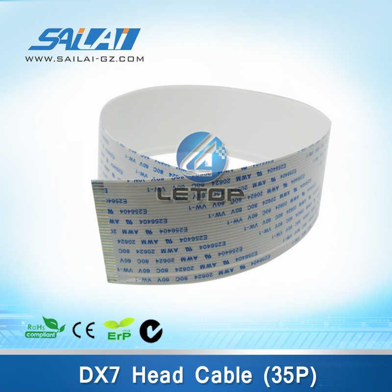 5 Buah/Banyak Head Printer Dx7 35 P Printhead Kabel untuk DX5 Mesin Kepala