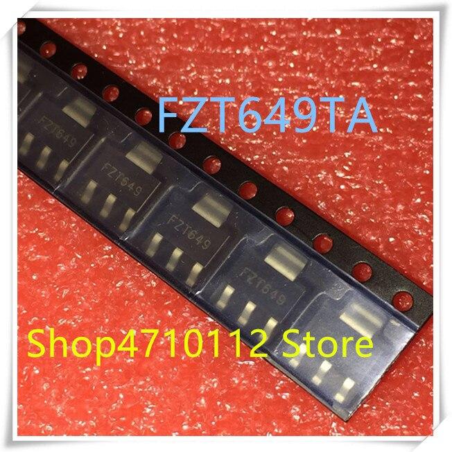NEW 10PCS/LOT FZT649TA FZT649 649 25V 3000MA SOT-223 IC