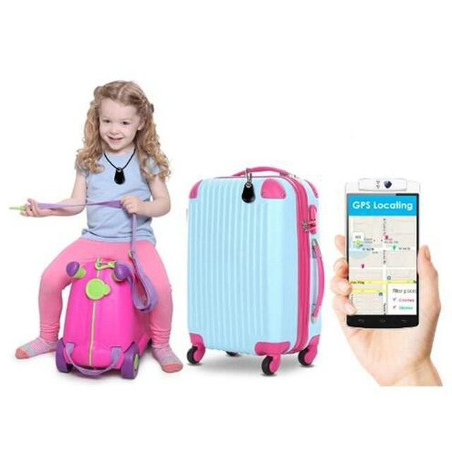 2018 4 pcs/lot Anti-perdu intelligent Bluetooth Tracker enfant sac portefeuille clé Finder GPS localisateur alarme Pet téléphone voiture perdu rappel