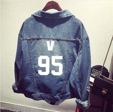 2016 Rushed New Women Jacket Bts Bangtan Boys Clothes Holes Jacket Coat Cowboy Autumn Female Support Kpop 4minute Woman Hoodie