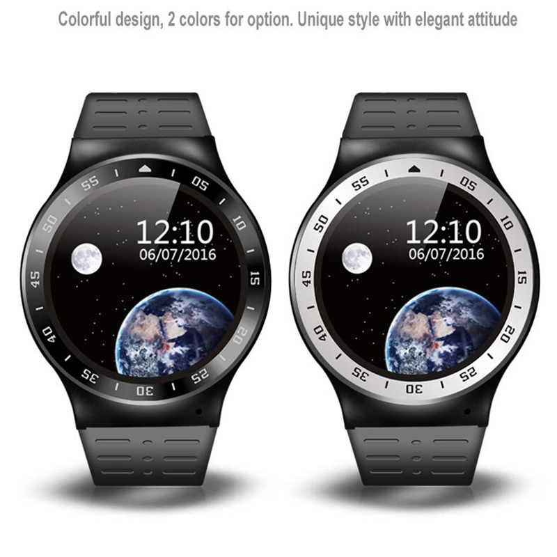 New Arrival S99A Smart Watch MTK6580 Android 5.1 OS Resolution 360*360 Support Nano Sim Card Wifi GPS Heart Rate Monitor